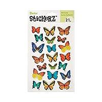 Darice Stickerz, 21 Piece, Paper Butterfly Stickers