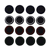 CTYRZCH 8 Pairs/16 PCS Replacement Silicone Analog Controller Joystick Thumb Stick Grips Caps Cover for PS4 PS3 Xbox One/360 Wireless Controllers