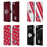 Official NFL 2017/18 Kansas City Chiefs Leather Book Wallet Case Cover For Apple iPhone 7 Plus