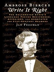 Ambrose Bierce's Write It Right