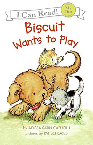 Biscuit Wants to Play (My First I Can Read) PDF