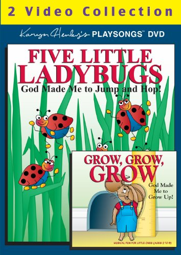 Five Little Ladybugs DVD 2-Video Collection ()