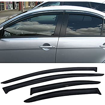 Amazon com: Gevog 4pcs Side Window Deflectors Original Window Visors