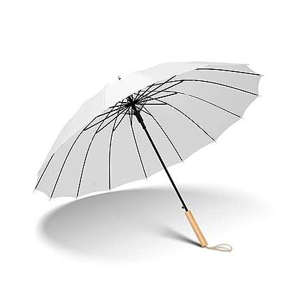 Susulv Paraguas Fuerte Compacto Grande A Prueba de Viento 210T Paraguas automático Durable y Duradero con