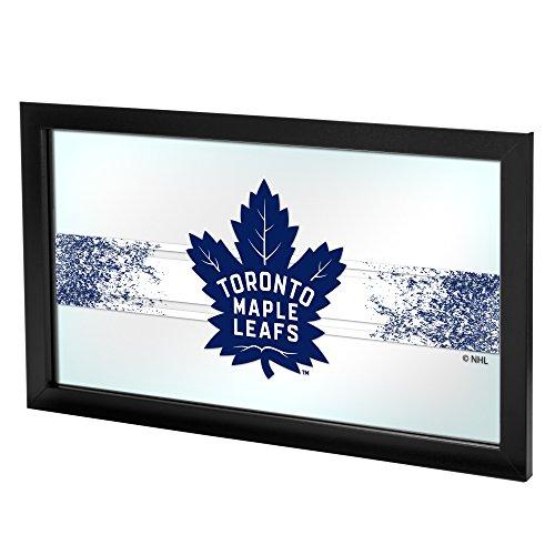 (Trademark Gameroom NHL Toronto Maple Leafs Framed Logo Mirror)