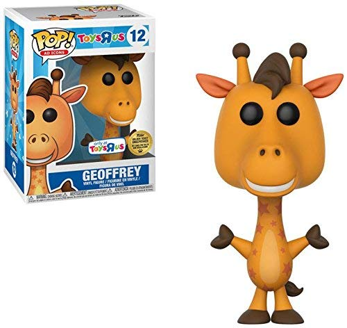 (Funko Limited Edition POP AD Icons Geoffrey The Giraffe 12 - Toys 'R US Exclusive Vinyl Figure with Golden Ticket Chance!)