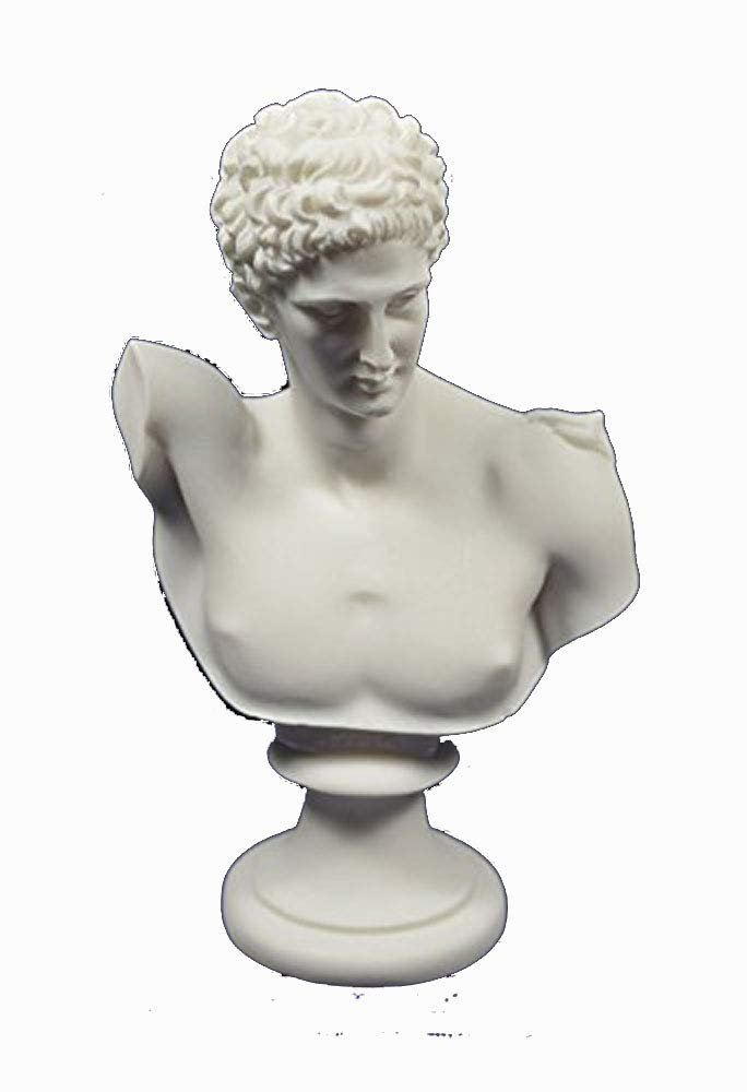 Hermes scultura busto Dio greco conduttore di Anime into the Afterlife Estia Creations