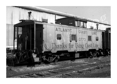 (Atlantic Coast Line caboose #0773 5x7