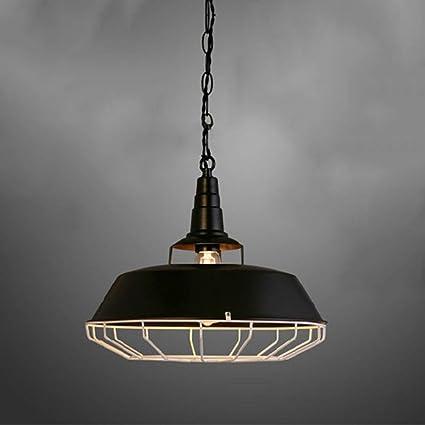 Vintage Pendelleuchte einflammig Industriedesign Hängelampe fürs Wohnzimmer Flur
