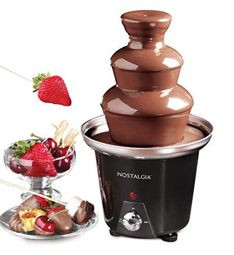 Nostalgia CFF965 3-Tier 1.5-Pound Chocolate Fondue Fountain - smallkitchenideas.us