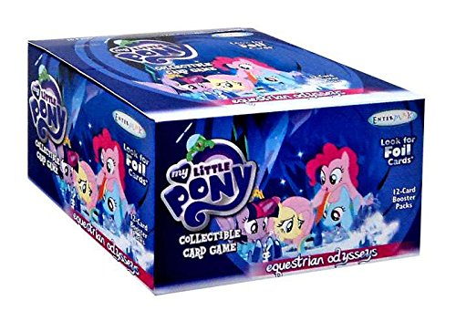 My Little Pony CCG Card Game Series#5 Equestrian Odysseys Booster Box - 36 packs of 12 cards! by My Little Pony