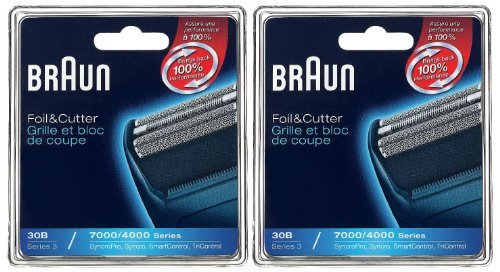 Braun Series 3 Combi 30B Foil and Cutter Replacement Pack - 2 pk