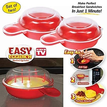 Easy Eggwich Microwave Egg Cooker New Version