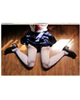 ball joint tights. ball jointed knee high tights + net or black two-piece set tattoo stockings joint