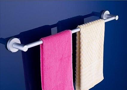 Toalleros toallero Espacio de aluminio toalla de baño ligera base redonda monopolo