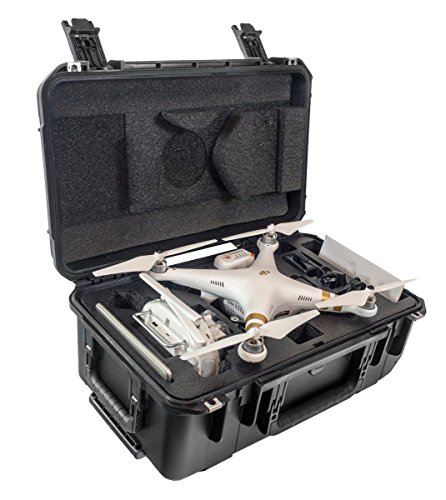 CasePro CP-PHAN3-CO DJI Phantom 3 Carry-On Hard Case (Black)