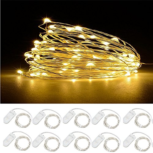 Led Fairy Lights Warm White - 8