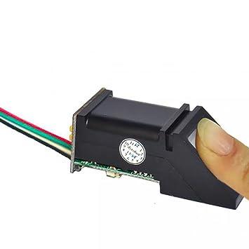 MagiDeal Lector Óptico de Huellas Dactilares Sensor Módulo Todo en Uno para Bloqueo Arduino: Amazon.es: Electrónica