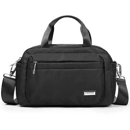 fe3d19ceacb0 Fouvor Satchel Bag Nylon Waterproof Crossbody Handbag