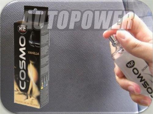 Cosmo–Aroma Coche Ambientador Vainilla neutraliza + absorbe olores Pump Action