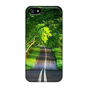 Premium [TMZZePw7090BHAxp]green Road Case For Iphone 5/5s- Eco-friendly Packaging