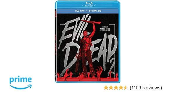 Amazon com: Evil Dead 2 [Blu-ray + Digital HD]: Bruce