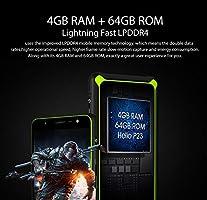 HiDON Rugged Smartphone IP68 Waterproof and dustproof 4G LTE 4GB ...