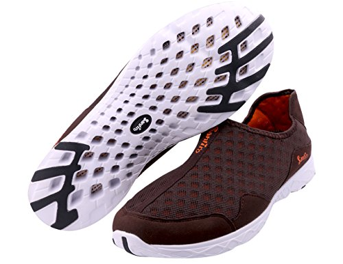 Nog Een Zomer Lichtgewicht Instapmodel Sneakers Voor Heren Waterproof Sneldrogende Aqua Waterschoenen Bruin
