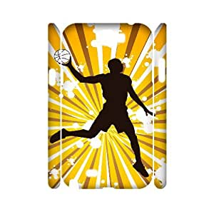 TOSOUL Basketball Customized Hard 3D Case For Samsung Galaxy Note 2 N7100