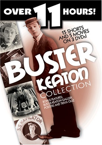 Buster Keaton Collection - 15 Shorts, 5 Movies by St Clair Vision