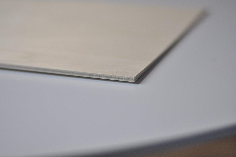 D/écoupe Laser CNC Routeur Creative Deco 3 x A4 Contreplaqu/é Plaque Bois Baltique Bouleau Pi/èce Chantourn/ée Id/éal pour Pyrogravure Modelage Antid/érapant Ext/érieur 300 x 210 x 3 mm