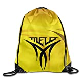 Show Time Melo Logo Backpack Gymsack Drawstring Shoulder Bags
