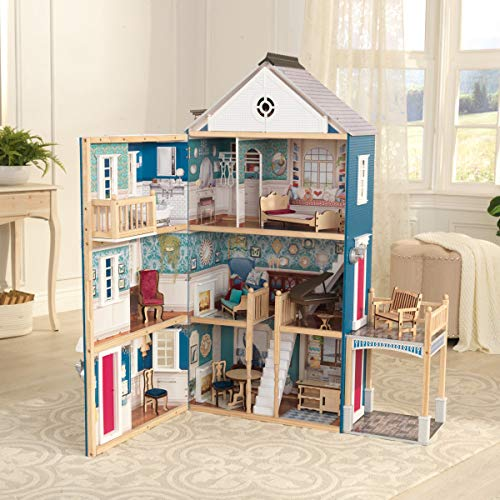 KidKraft Grand Anniversary Wooden Dollhouse with Furniture