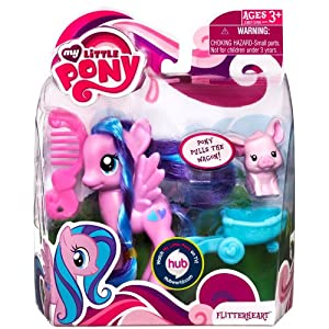Amazon.com: Flitterheart My Little Pony with Animal Friend: Toys