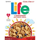 Quaker Life Cereal, Cinnamon, 13 Ounce