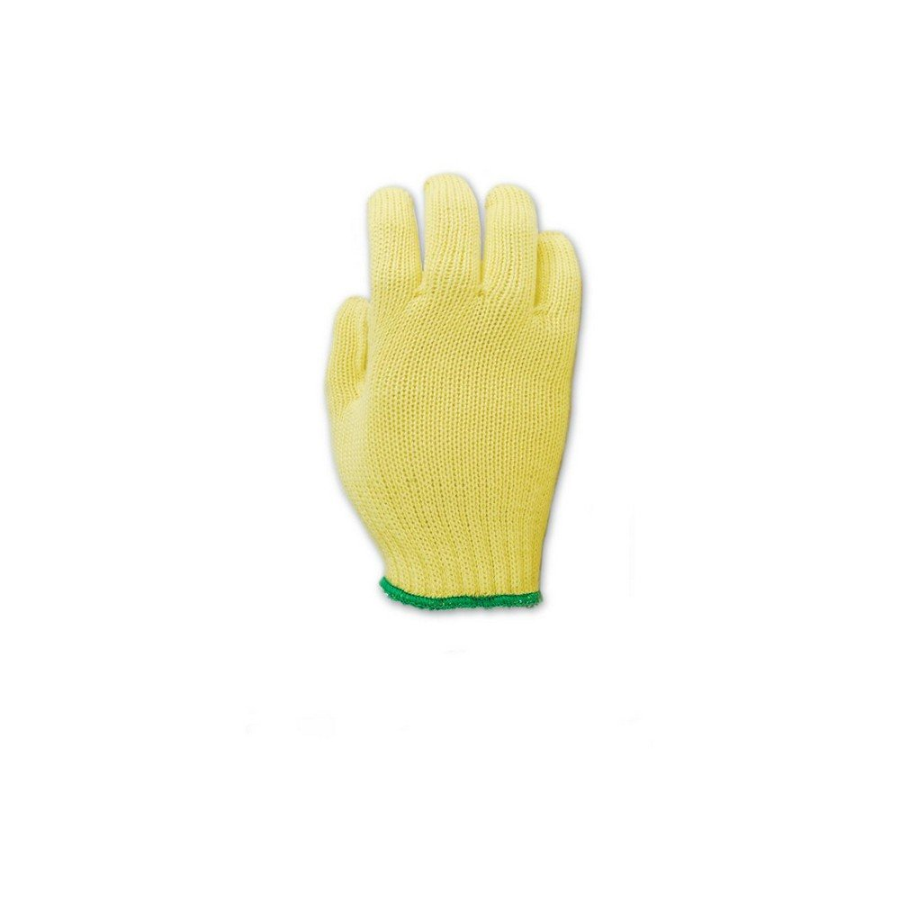 Magid Glove & Safety 590CSKEVTC Magid Cut Master Extra Heavyweight Gloves, Made with DuPont Kevlar 1000, Ladies (Fits X-), Yellow , Ladies Small (Fits XS) (Pack of 12)