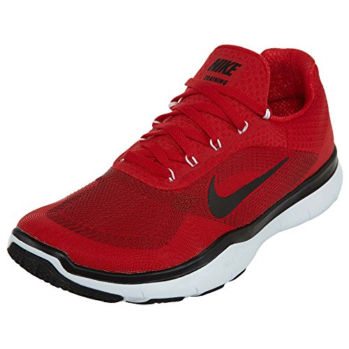 Nike Herren Free Trainer V7 Trainingsschuhe Universität Rot / Schwarz-Weiß