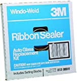 "3M 08611 Window-Weld 5/16"" x 15' Round Ribbon Sealer Kit"