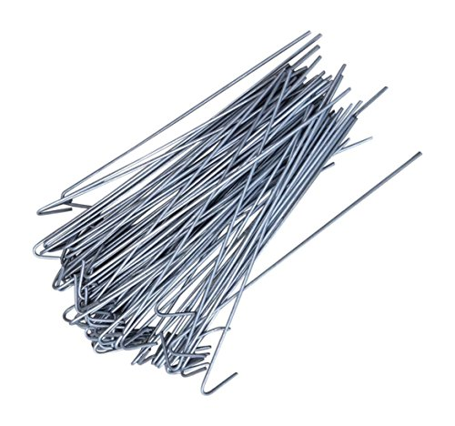 (Steel Chain Link Residential Fence Ties 100 Count Pack 6 1/2 Inch Long 14)