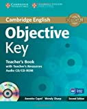Objective Key Teacher's Book with Teacher's Resources Audio CD/CD-ROM, Annette Capel and Wendy Sharp, 1107642043