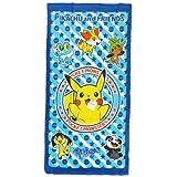 Pokemon [JUMBO beach towels ] leisure bath towel / Pikachu and Friends Pokemon
