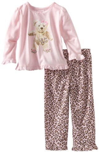 Little Me Baby Girls' Bear Pajama
