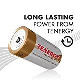 Tenergy 1.5V D Alkaline LR20 Battery, High Performance D Non-Rechargeable Batteries for Clocks, Remotes, Toys & Electronic Devices, Replacement D Cell Batteries, 12-Pack