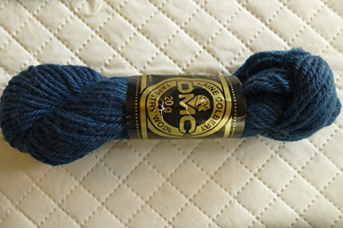 Navy Blue DMC Laine Colbert 100% Virgin Wool Tapestry Yarn Made in France