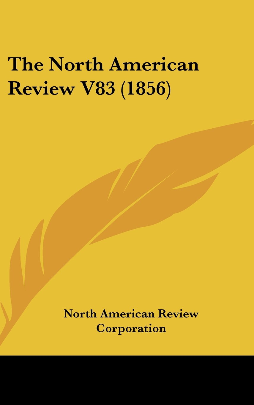 The North American Review V83 (1856) pdf