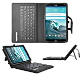 LG G Pad III/3 8.0 Keyboard case, IVSO LG G Pad III 8.0 Case With Keyboard Ultra-Thin High Quality DETACHABLE Bluetooth Keyboard Stand Case / Cover for LG G Pad III/3 8.0 Tablet(Black)