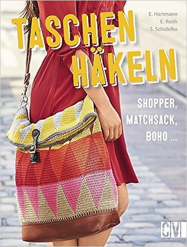 Taschen Häkeln Shopper Matchsack Boho Amazonde Ella Hartmann