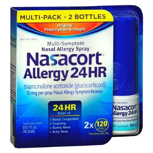 Nasacort Nasal Spray, 240 Total Spray Count by Nasacort
