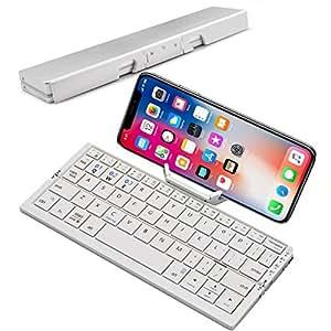 Amazon Com Mini Folding Bluetooth Keyboard Raydem