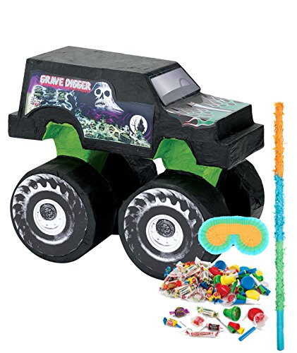 BirthdayExpress Monster Jam Party Supplies - Pinata